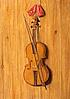 A Trompe L�Oeil of a Violin