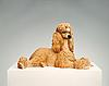 Poodle sculpture